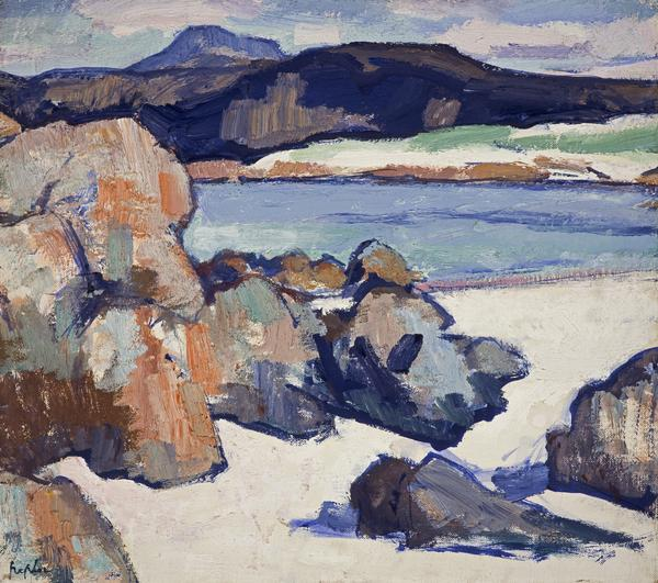 Iona Landscape: Rocks (About 1925 - 1927)
