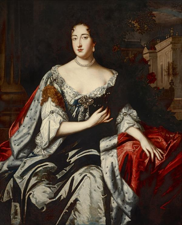 Mary II, 1662 - 1694. Reigned jointly with William III, 1688 - 1694 (after 1690)