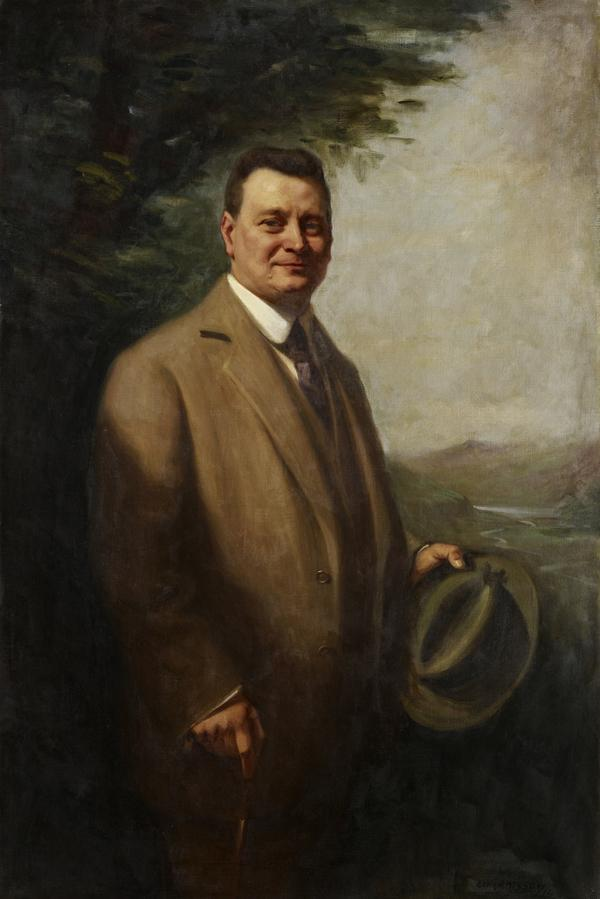 Graham Moffat, 1866 - 1951. Actor and playwright (1914)