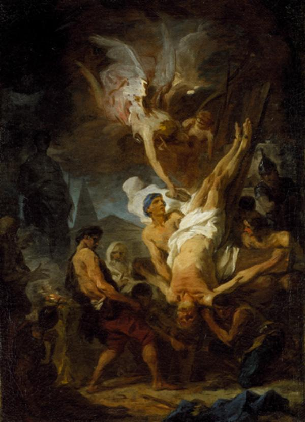 The Crucifixion of Saint Peter (About 1740)