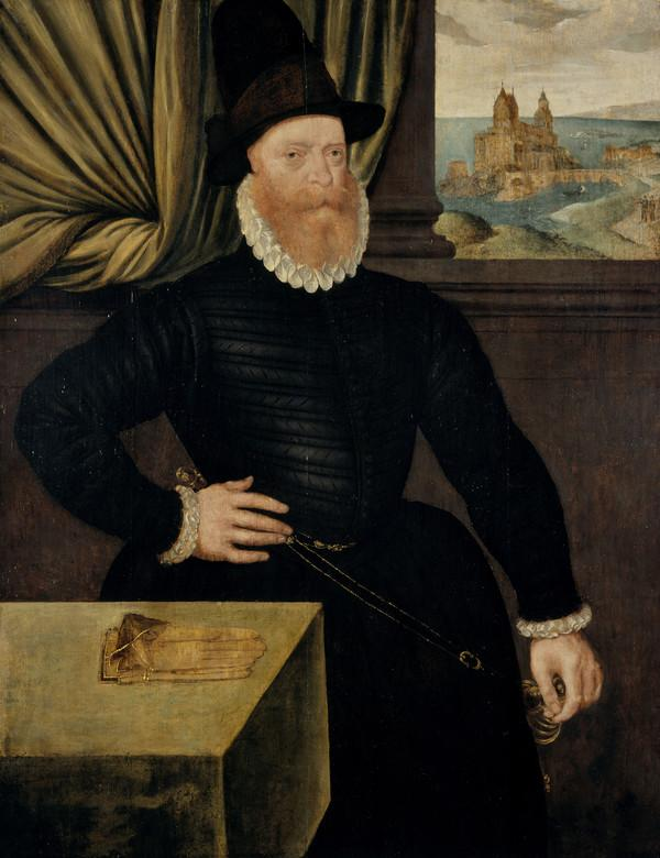 James Douglas, 4th Earl of Morton, about 1516 - 1581. Regent of Scotland (About 1580)