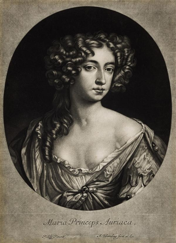 Mary II, 1662 - 1694. Reigned jointly with William III, 1688 - 1694 (After 1677)