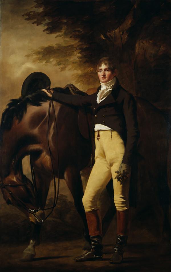 Professor John Wilson (nom de plume, 'Christopher North'), 1785 - 1854. Author and moral philosopher (About 1805 - 1810)