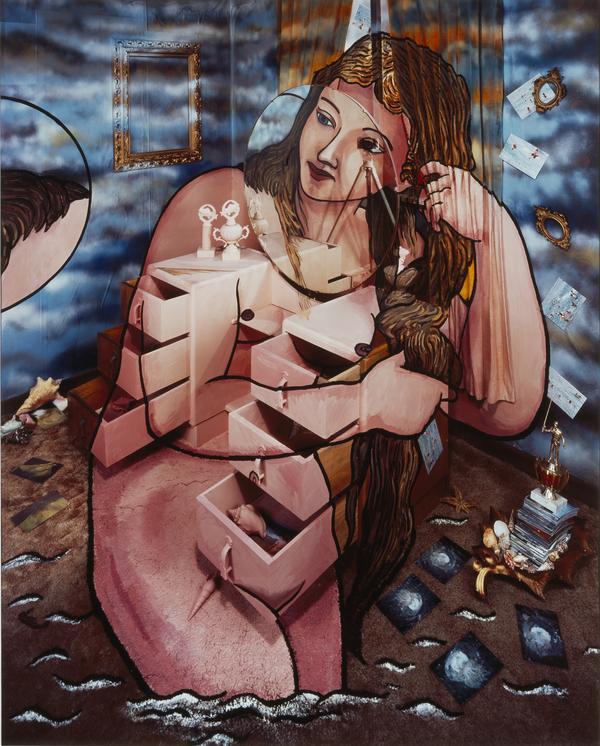 Venus Anadyomene (after Titian) (1998)