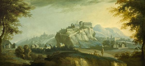 Edinburgh from the West (About 1745)