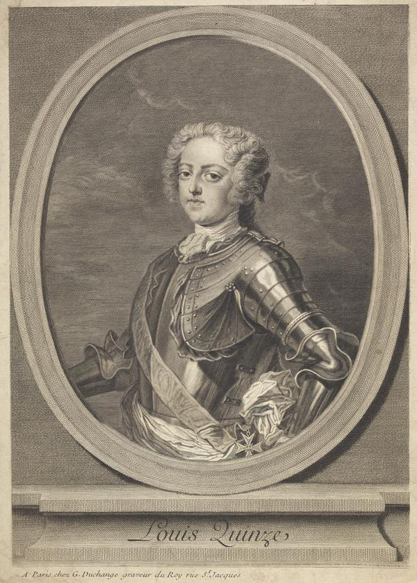 Louis XV, 1710 - 1774. King of France