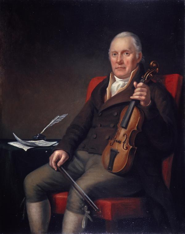 William Marshall, 1748 - 1833. Violinist and composer (1817)