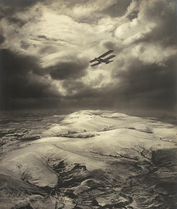 Sunset over the Pentlands Range (About 1920)
