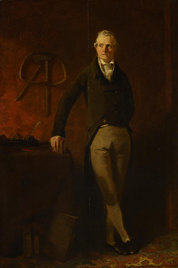 Captain Robert Skirving of Croy, 1757 - 1843. Of the East India Company, brother of Archibald Skirving (Painted 1813)