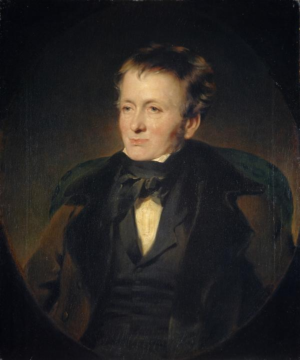 Thomas de Quincey, 1785 - 1859. Author and essayist (Dated 1846)
