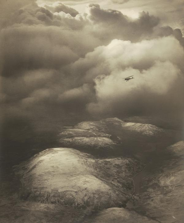 Uplands. Snowstorm Passing (About 1920)