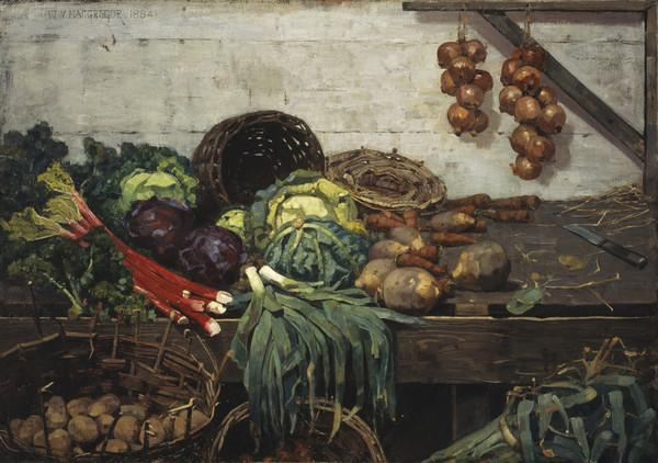 The Vegetable Stall (1884)