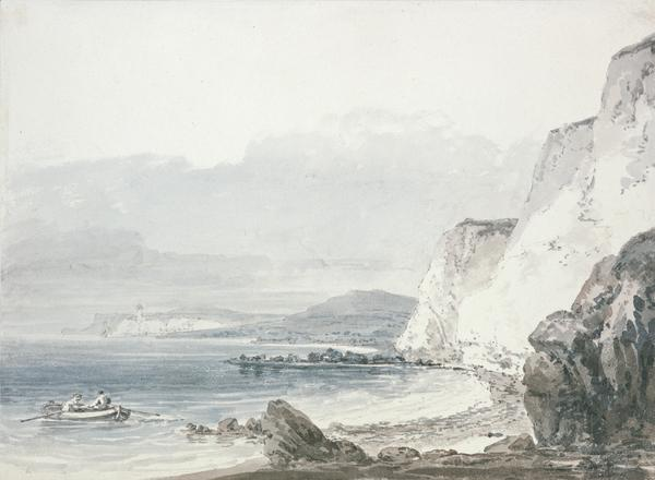 Beachy Head Looking towards Newhaven (About 1794 - 1797)