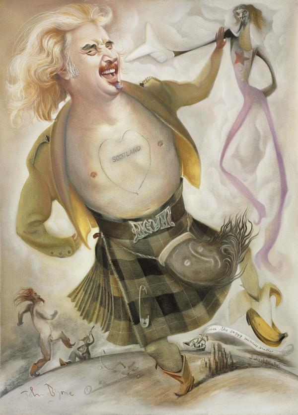 Billy Connolly, b. 1942. Entertainer (2002)