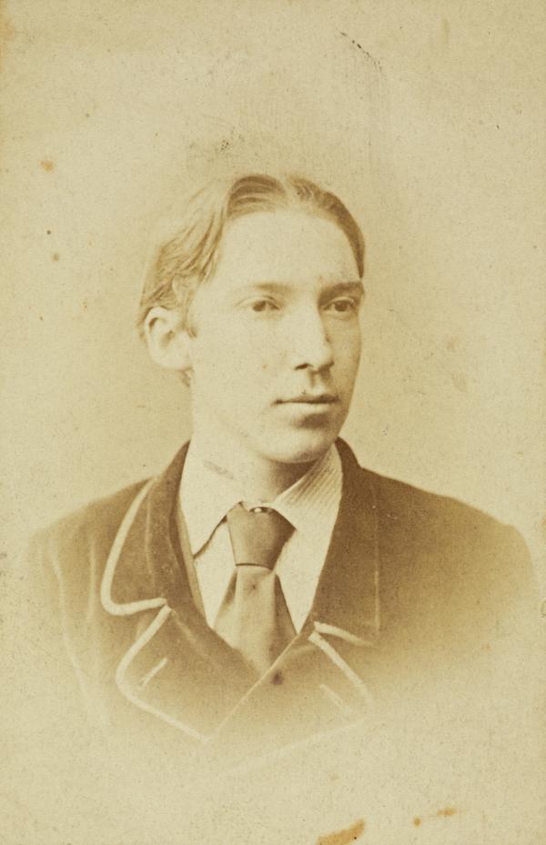 Robert Louis Stevenson, 1850 - 1894. Essayist, Poet and Author. (About 1874)