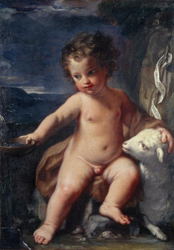 The Infant Saint John the Baptist in the Wilderness (Dated 1664)