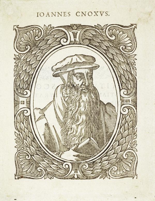 John Knox, 1505 - 1572. Reformer and historian (1580)