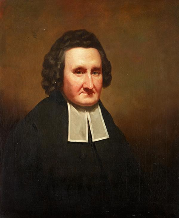 Rev. Dr John Erskine, 1721 - 1803. Theologian (About 1804)