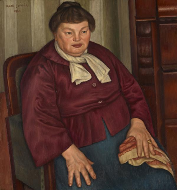 Portrait of the Artist's Mother (1924)
