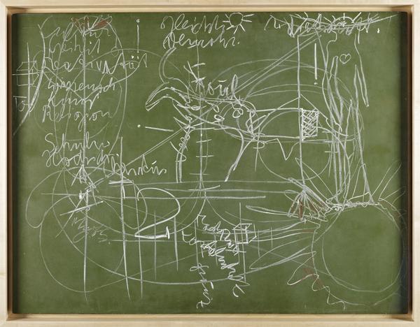 Zu demVortrag: Der Soziale Organismus - ein Kunstwerk, Bochum 2.03.1974 [For the lecture: The social organism - a work of art, Bochum, 2nd March...