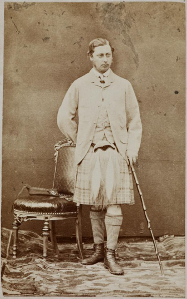 Edward VII, 1841 - 1910. Reigned 1901 - 1910. (as Prince Of Wales) (August 1863)