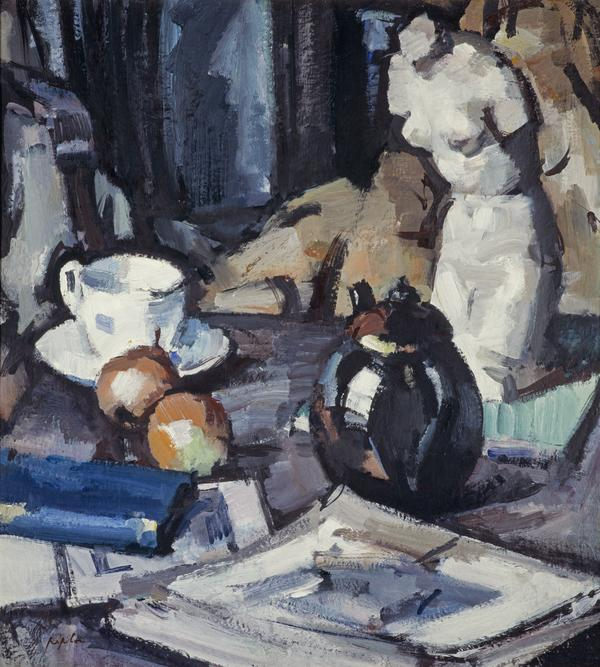 Still Life with Plaster Cast (About 1931)