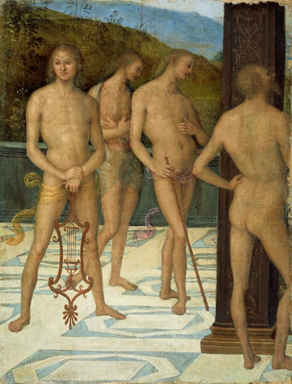 Four Male Figures (About 1505)