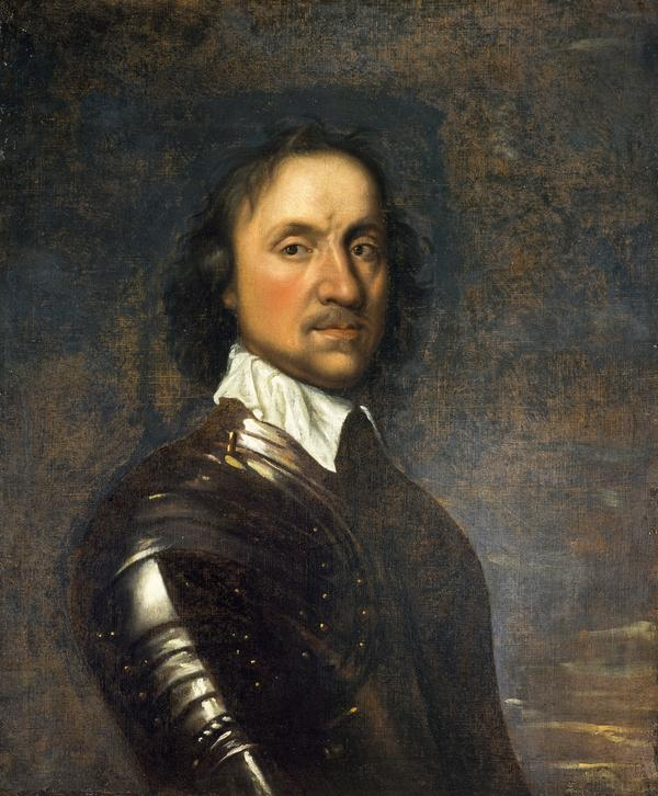 Oliver Cromwell, 1599 - 1658. Lord Protector (after 1650)