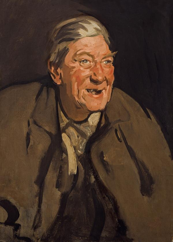 Man Laughing (Portrait of Tom Morris) (About 1902)
