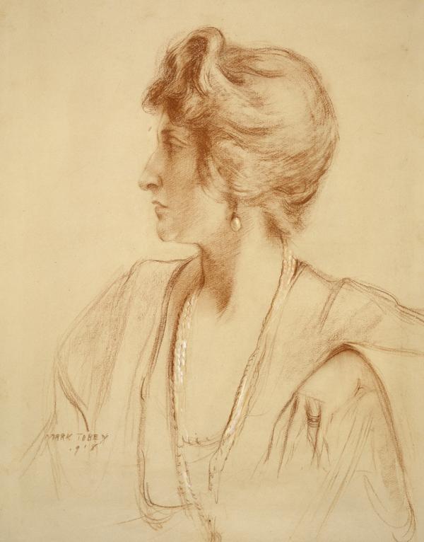 Mary Garden, 1874 - 1967. Opera singer (1918)