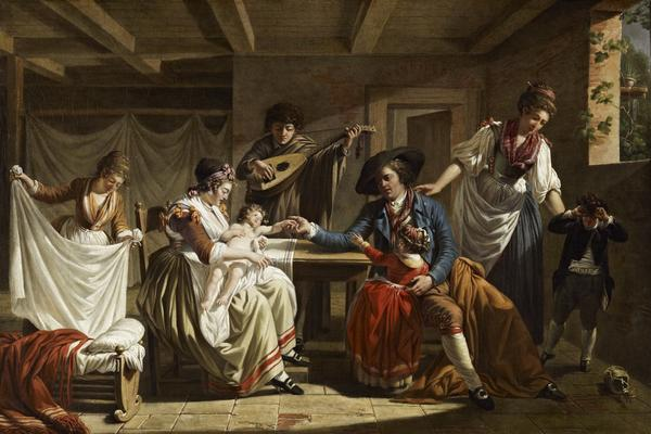 L'Heureuse Famille (About 1793)