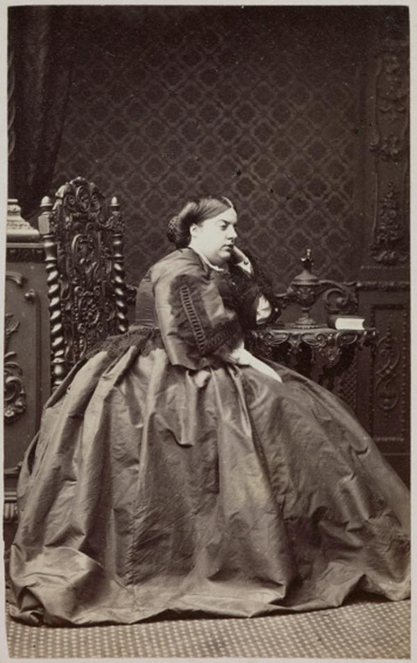 The Countess of Fife (Lady Agnes Georgiana Elizabeth Hay, Countess of Fife, d. 1869. Wife of James, 5th Earl of Fife) (August 1863)