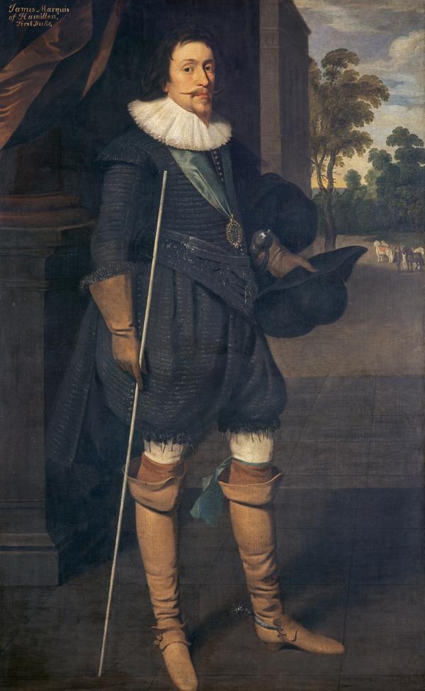 James Hamilton, 2nd Marquess of Hamilton, 1589 - 1625. Statesman (1622)