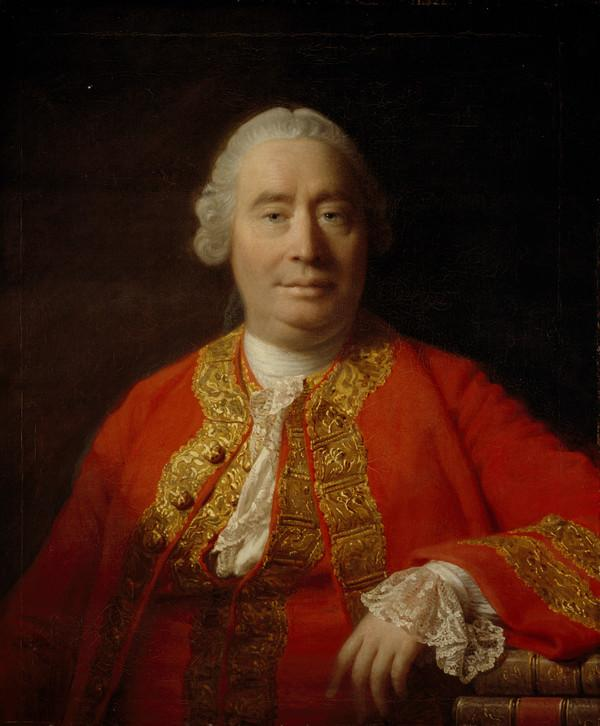 David Hume, 1711 - 1776. Historian and philosopher (1766)