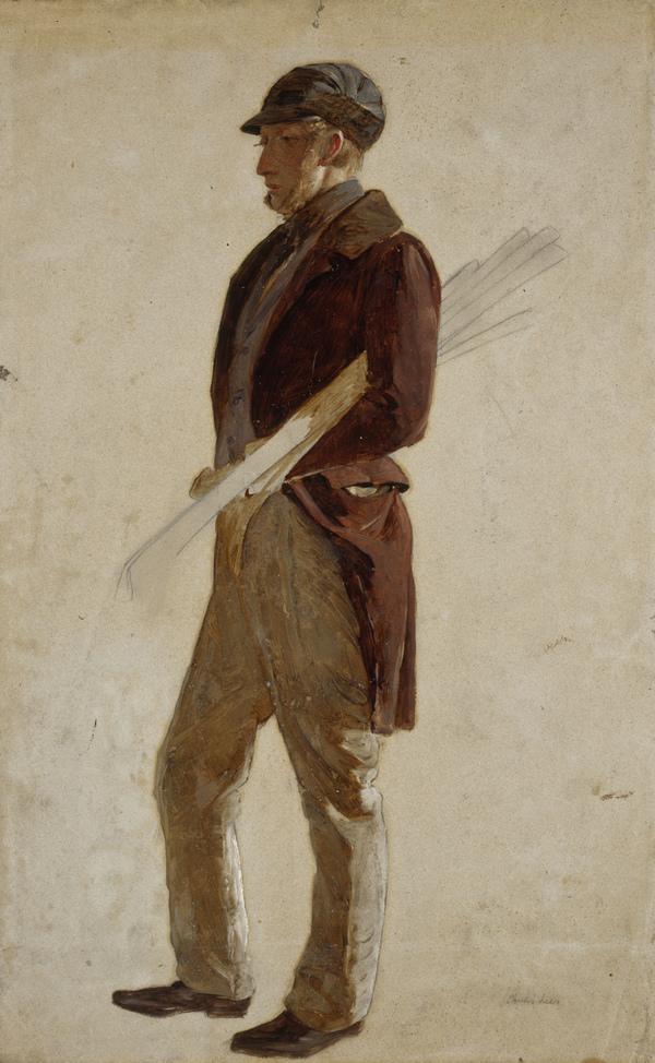 Sandy Pirrie, active 1847. Golfer