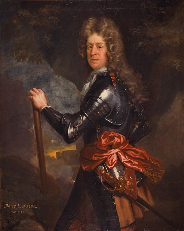 David Melville, 3rd Earl of Leven, 1660 - 1728. Statesman and soldier (1691)