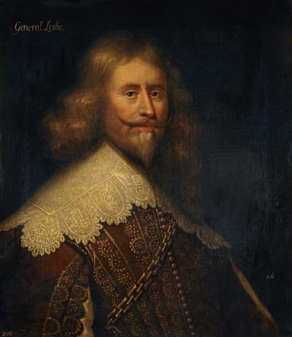 Alexander Leslie, 1st Earl of Leven, c 1580 - 1661. Soldier (After 1638)
