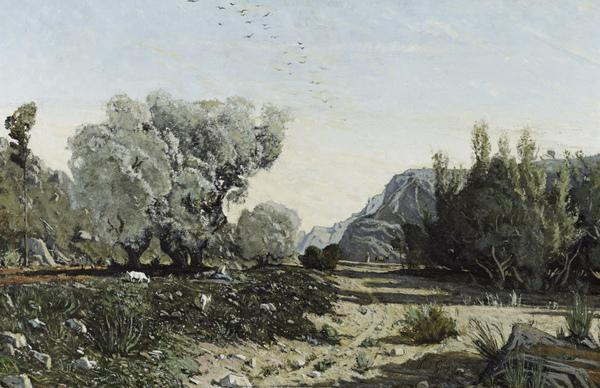 The Olive Trees (1860)