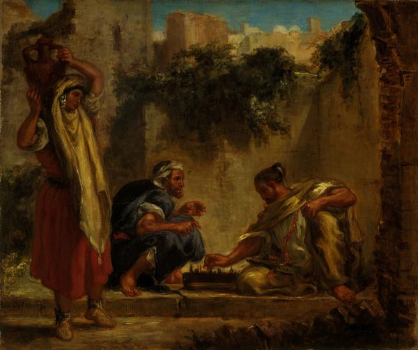 Arabs Playing Chess (1847 - 1849)