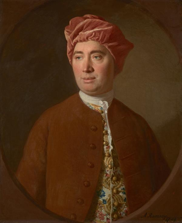 David Hume, 1711 - 1776. Historian and philosopher (1754)