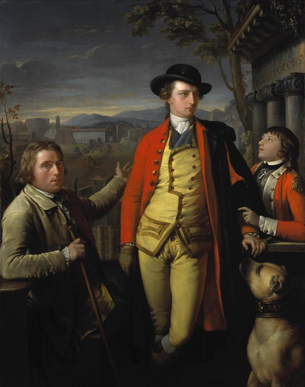 Douglas Hamilton, 8th Duke of Hamilton and 5th Duke of Brandon, 1756 - 1799 (with Dr John Moore, 1730 - 1802, and Sir John Moore, 1761 - 1809, as... (1775 - 1777)
