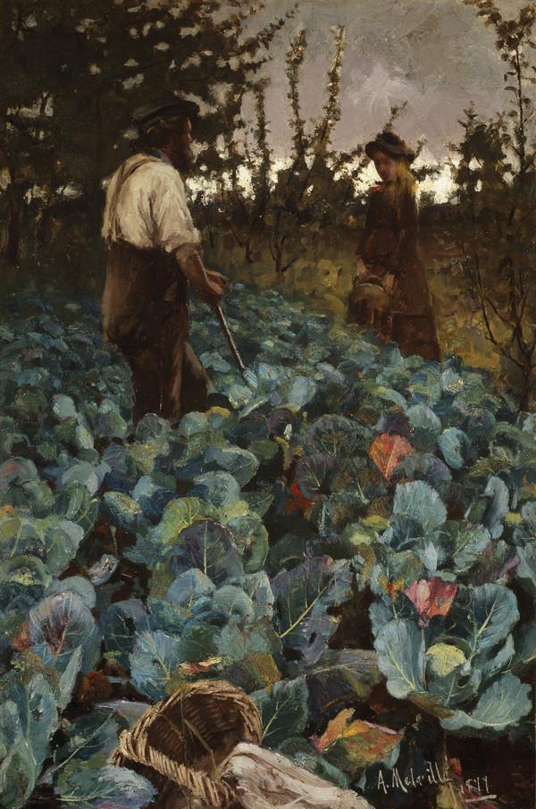 A Cabbage Garden (1877)