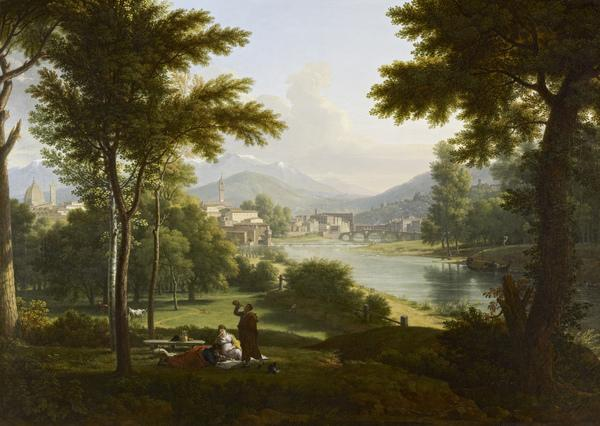 A View of Florence from the North Bank of the Arno (1813)