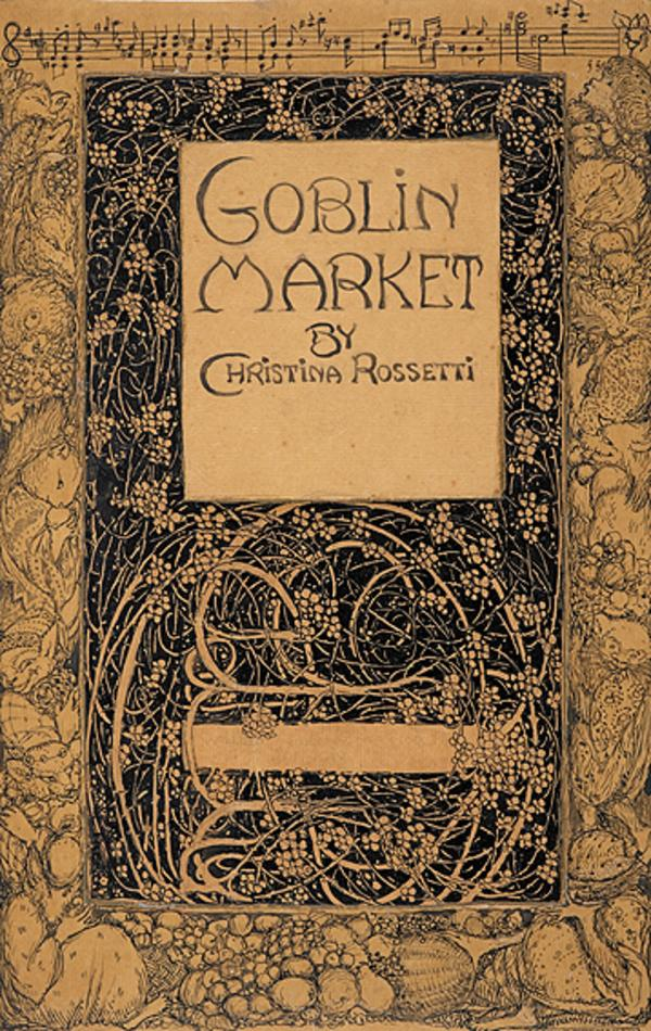Design of Title Page for Christina Rossetti's 'Goblin Market' (About 1912 - 1913)