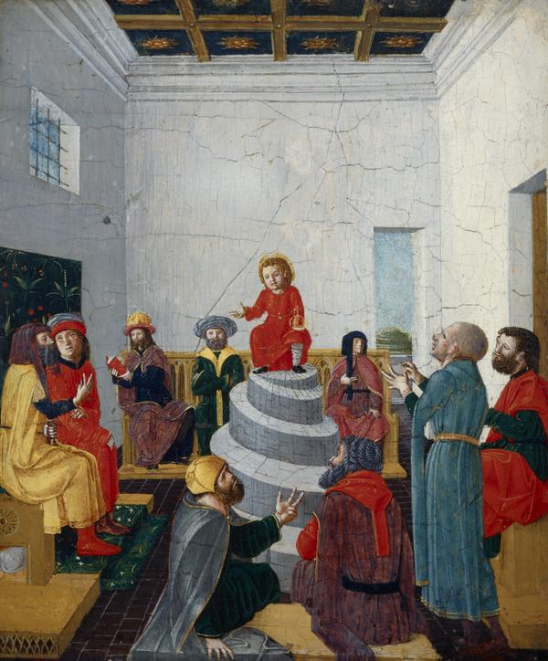 Christ Disputing with the Doctors (About 1480 - 1490)