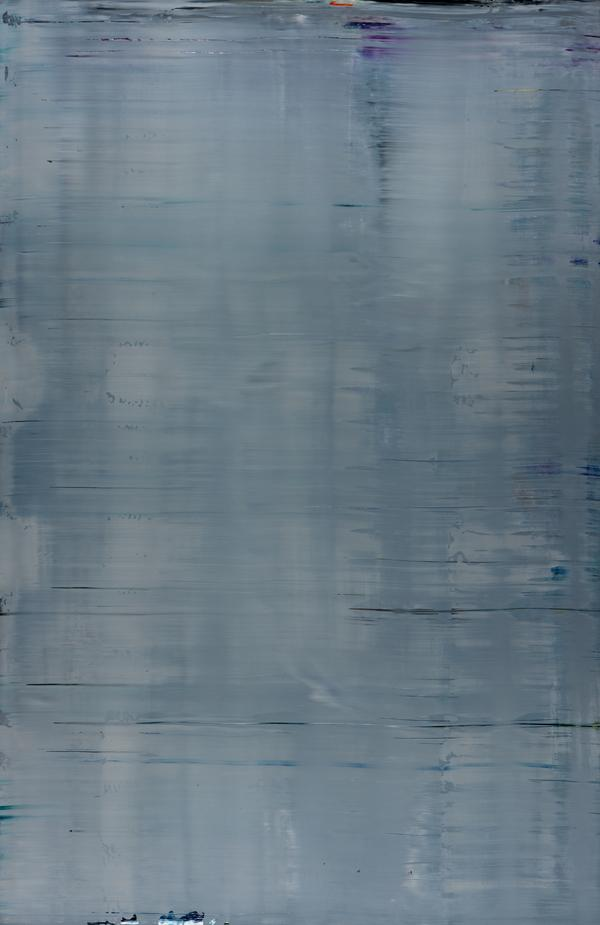 Abstraktes Bild (Grau) [Abstract Painting (Grey)] (2002)