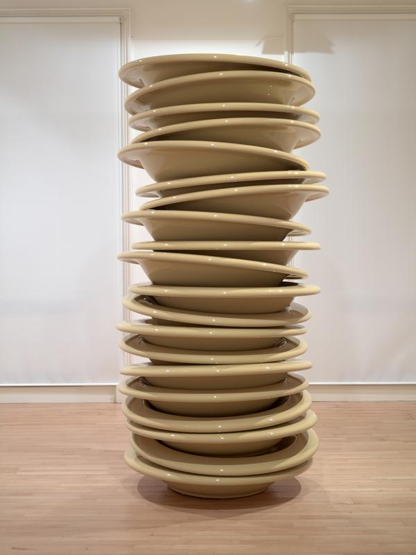 No Title (Stacked Plates) (2010)