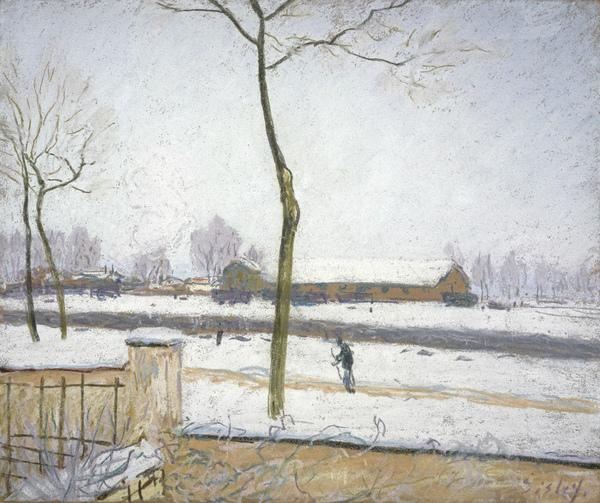 Effet de Neige (Snow Effect) (1880 - 1885)