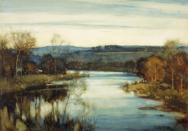 The Waning Light (About 1905)