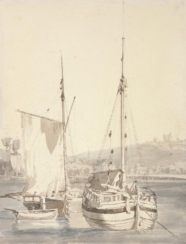 Old Dover Harbour (About 1794 - 1797)